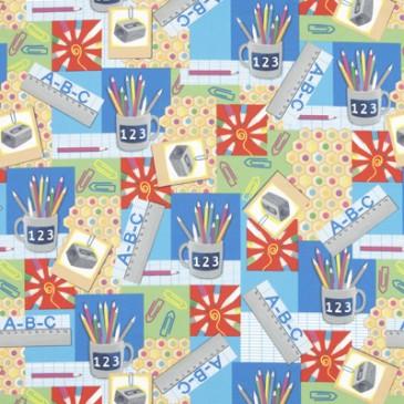 Fabric SCHOOLART.55.140