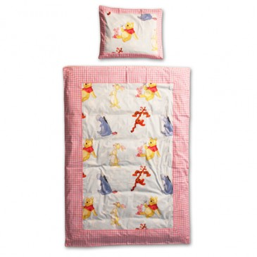 Disney Winnie the Pooh Fabric PATCH DUVET COVER