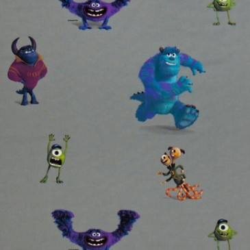 Disney Monsters Inc Fabric MONSTERS.53.140