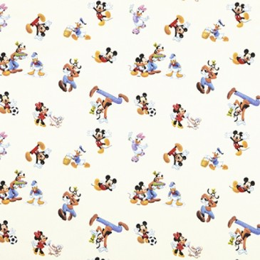 Disney Donald Duck Mickey Mouse Minnie Mouse Fabric PLAYOUT.11.140