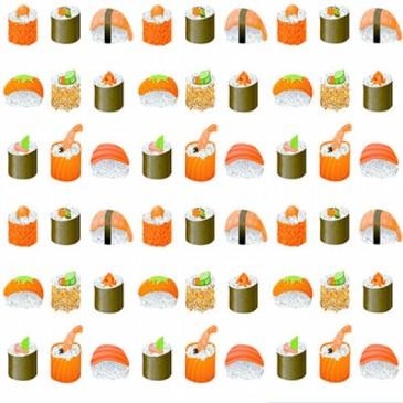 KidsFabrics Fabric DIGSUSHI.10.140