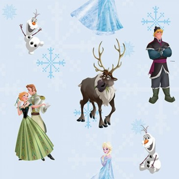 Disney Frozen Fabric ANNA.38.140