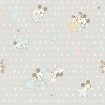 Disney Mickey Mouse Minnie Mouse Fabric SNUGGLE.53.140