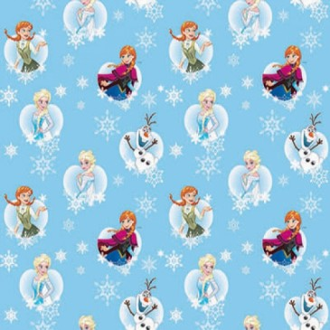 Disney Frozen Fabric FROSTY.38.140