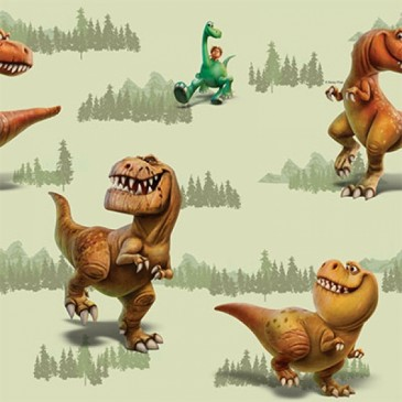 Disney The Good Dinosaur Fabric RAMSEY.13.140