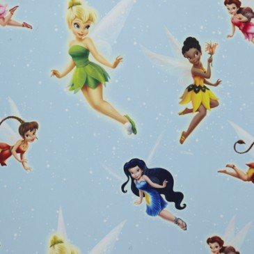 Disney Princess Tinkerbell Fabric SUNSILVER.38.150