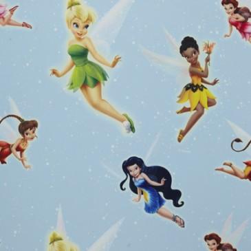 Disney Tinkerbell Fabric SUNSILVER.38.150