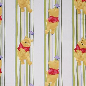 Disney Winnie the Pooh Fabric STRIPEWIN.45.140