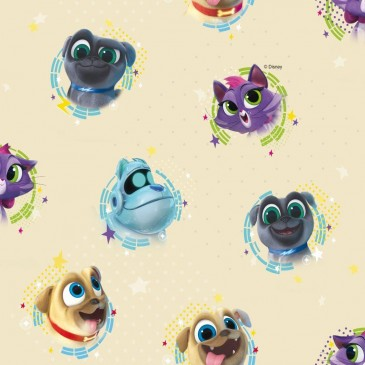 Disney Puppy Dog Pals Fabric BINGO.11.140