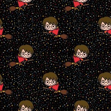 Harry Potter Warner Bros Fabric BROOM.600.140