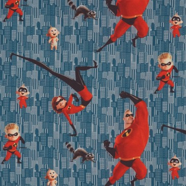 Disney The Incredibles Fabric DIBLE.395.140