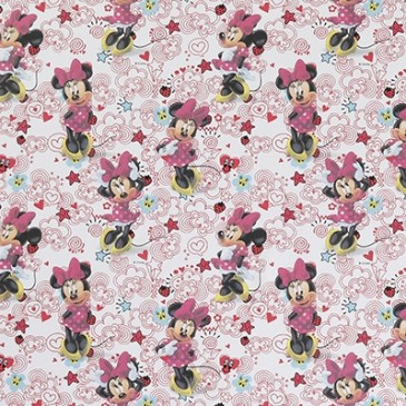Disney Minnie Mouse Fabric DOODLE.10.140