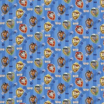 Nickelodeon Paw Patrol Fabric MASCOTTE.400.140