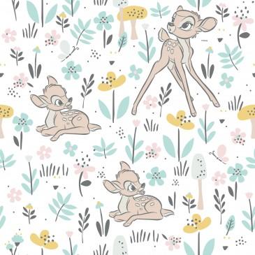Bambi Disney Fabric PRECIOUS.100.140