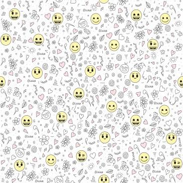 Fabric SMILEY.100.140