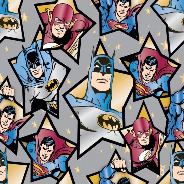 DC Comics Superman Warner Bros Fabric STARHERO.550.140