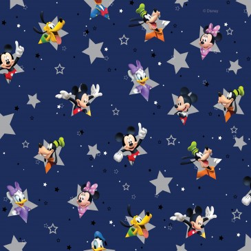 Disney Donald Duck Mickey Mouse Minnie Mouse Fabric STERN.420.140