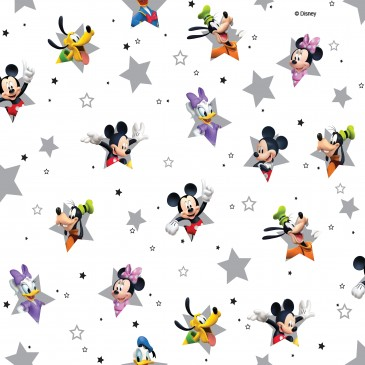 Disney Donald Duck Mickey Mouse Minnie Mouse Fabric STERN.100.140