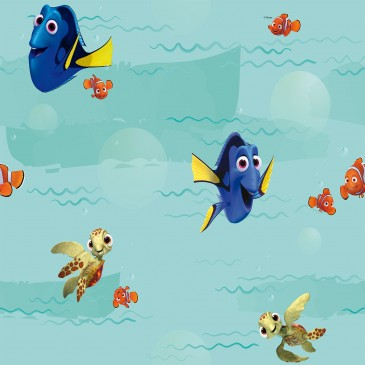 Disney Finding Dory Fabric SUNSWIME..44.150